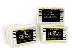 Cool Mint+Patchouli Natural Bar Soap