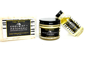 Cool Mint+Patchouli Beard Set
