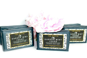 Garden Mint +Sage Bar Soap