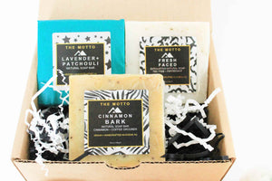 Natural Soap Trio