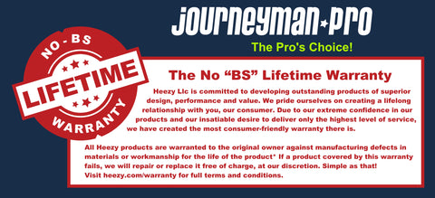 Journeyman Pro Lifetime No B.S. Warranty