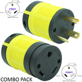 NEMA PLUG & CONNECTOR SETS - 15A, 20A, 30A 125-250 VAC