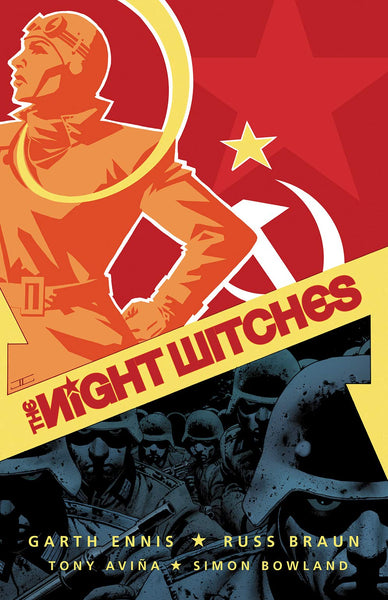 The Night Witches by Garth Ennis, illustrated by Russ Braun