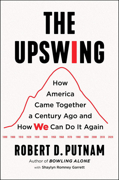 The Upswing: How America Came Together a Century Ago and How We Can Do It Again by Robert D. Putnam