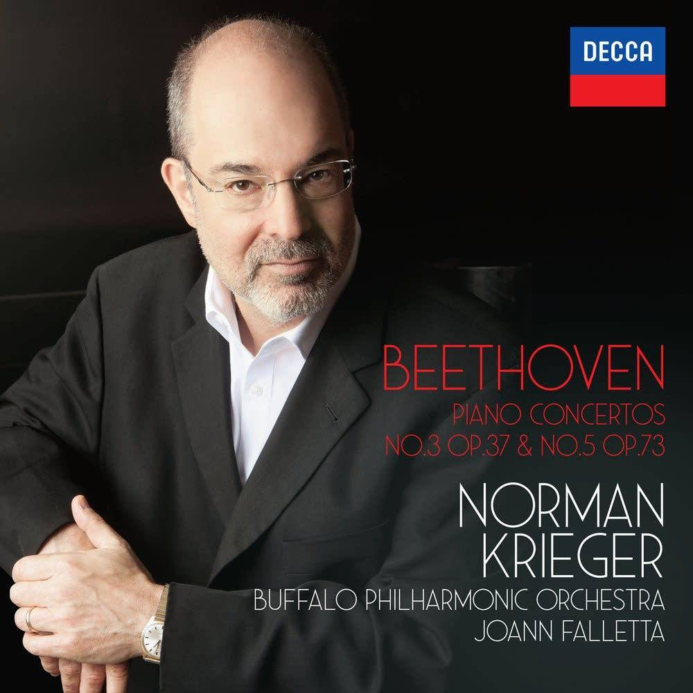 Beethoven: Piano Concertos No. 3 & No. 5 by Norman Krieger, JoAnn Falletta & the Buffalo Philharmonic Orchestra (Decca)