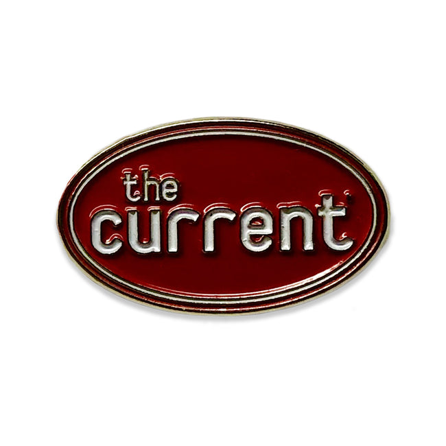 The Current Enamel Pin