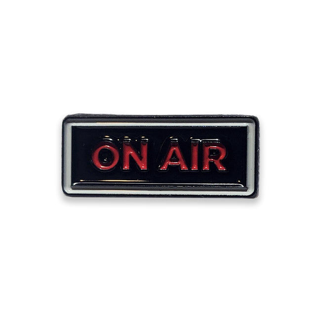 Live from Here On Air Pin