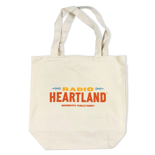 Radio Heartland Canvas Tote