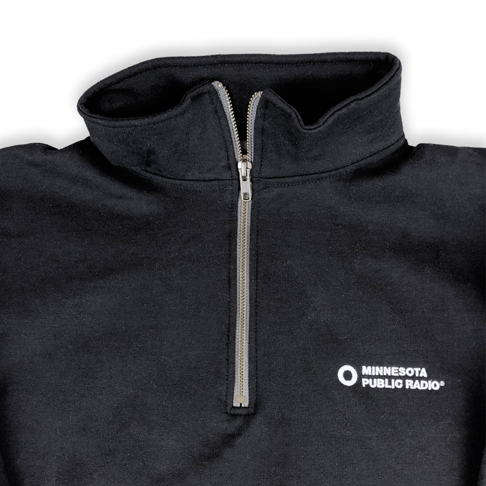 MPR Sweatshirt with Quarter Zip
