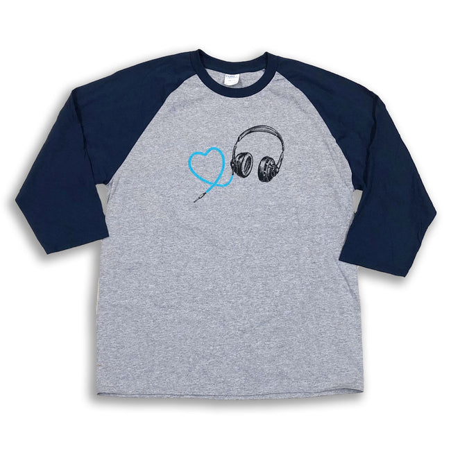 MPR Headphones Baseball Tee