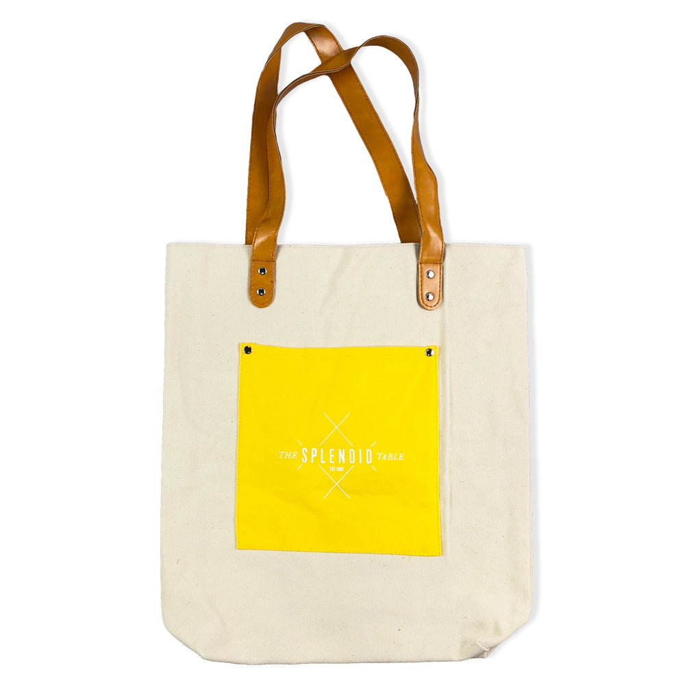 The Splendid Table Canvas Tote Bag