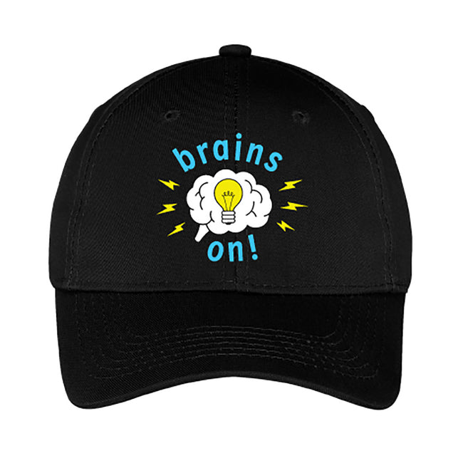 Brains On! Youth Baseball Cap