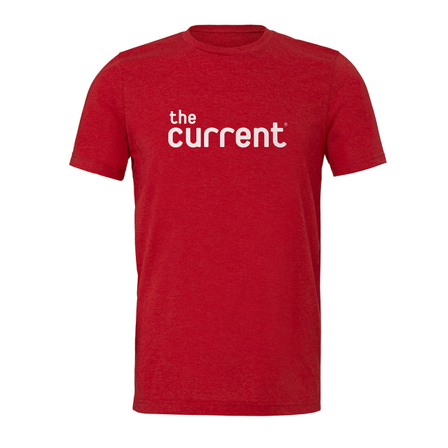 The Current Red Logo T-shirt