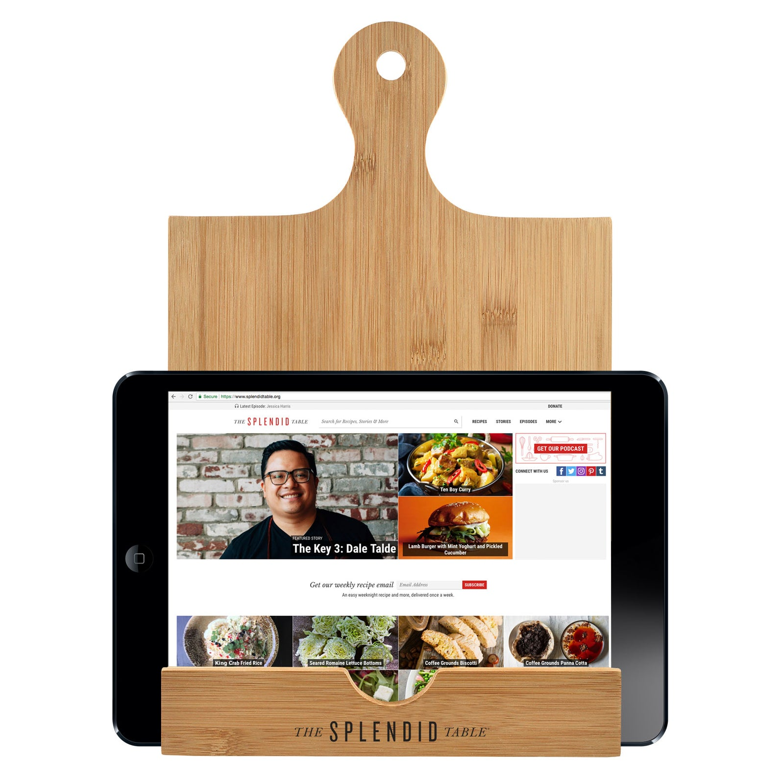 The Splendid Table Tablet/Cookbook Stand