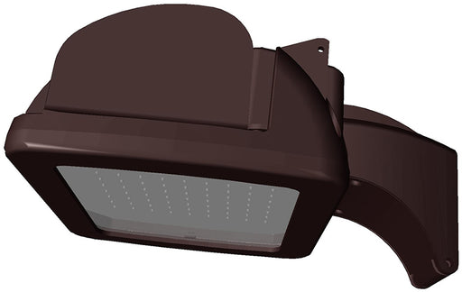 ( TLF - AD25 SERIES - 56W ) 100W EQUIVALENT HID 120-277V  - AD25 SERIES LED AREA LIGHT / FLOOD LIGHT / WALL PACK BRONZE FINISH