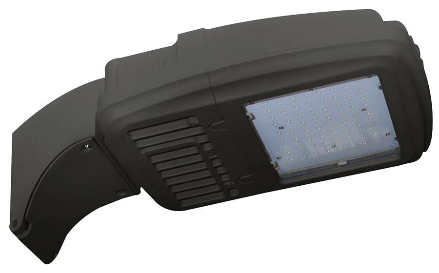 ( TLF - KH15 SERIES - 22W ) 70-100W EQUIVALENT HID 120-277V  - AMBER WILDLIFE KH15 SERIES KITTY HAWK AREA LIGHT / FLOOD LIGHT / WALL PACK BRONZE FINISH