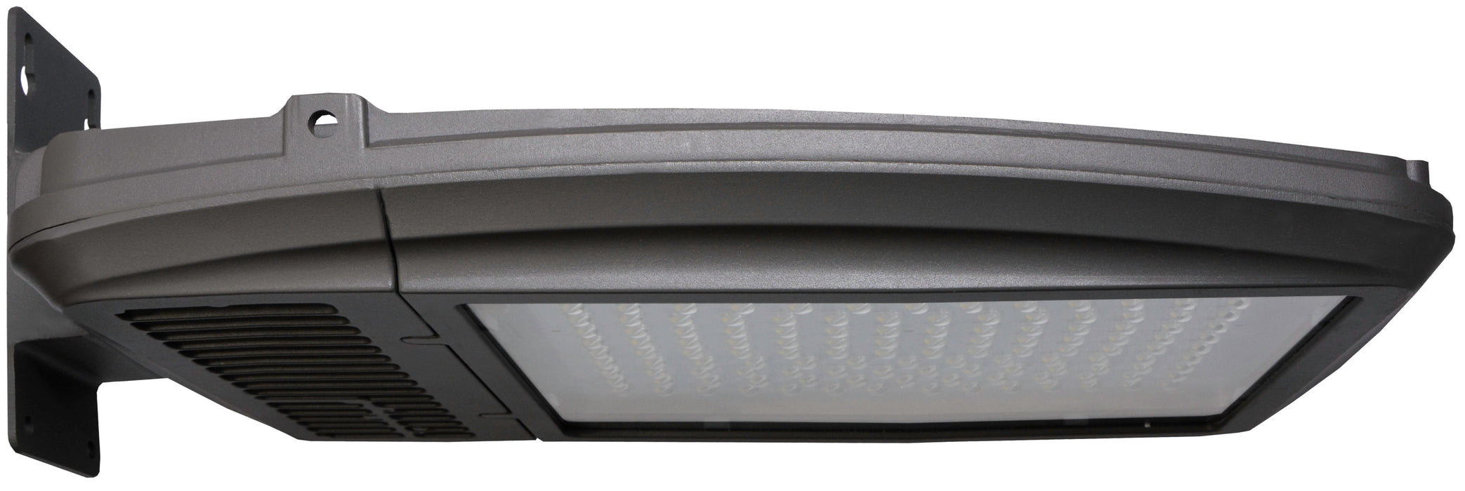 ( DURAGUARD - KH45 SERIES - 167W ) 400W EQUIVALENT HID 120-277V  - KH45 SERIES LED DURALED LARGE HAMPTON KITTY HAWK AREA LIGHT / FLOOD LIGHT / WALL PACK BRONZE FINISH