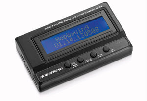 HobbyWing - Multifunction LCD Program Box - The R/C House