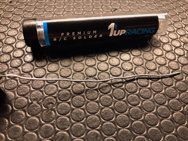 1UP Racing - Premium R/C Solder - 12g Tube - The R/C House
