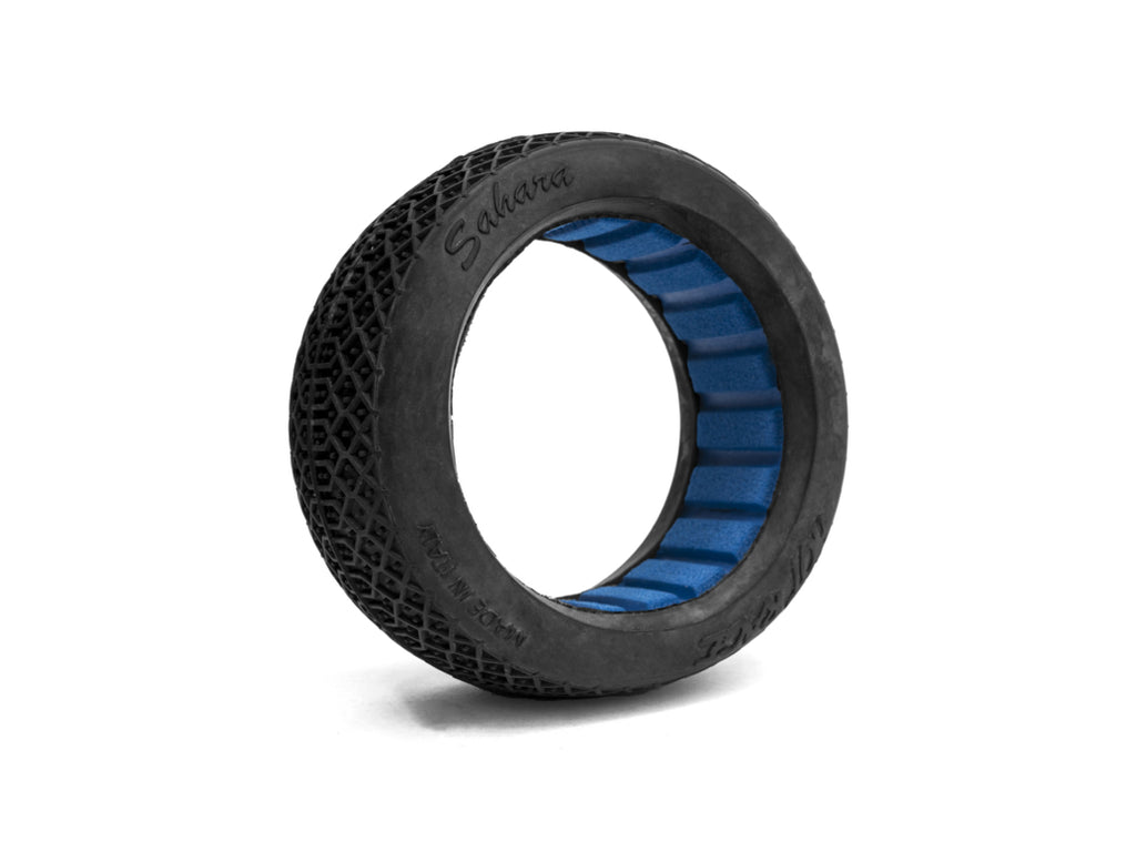 Hot Race - 1/8 Buggy Sahara (2) Tires w/ Inserts
