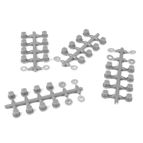 Tekno – Hinge Pin Inserts, Wheelbase Shims (requires TKR6523HD pins, EB/ET410) - The R/C House