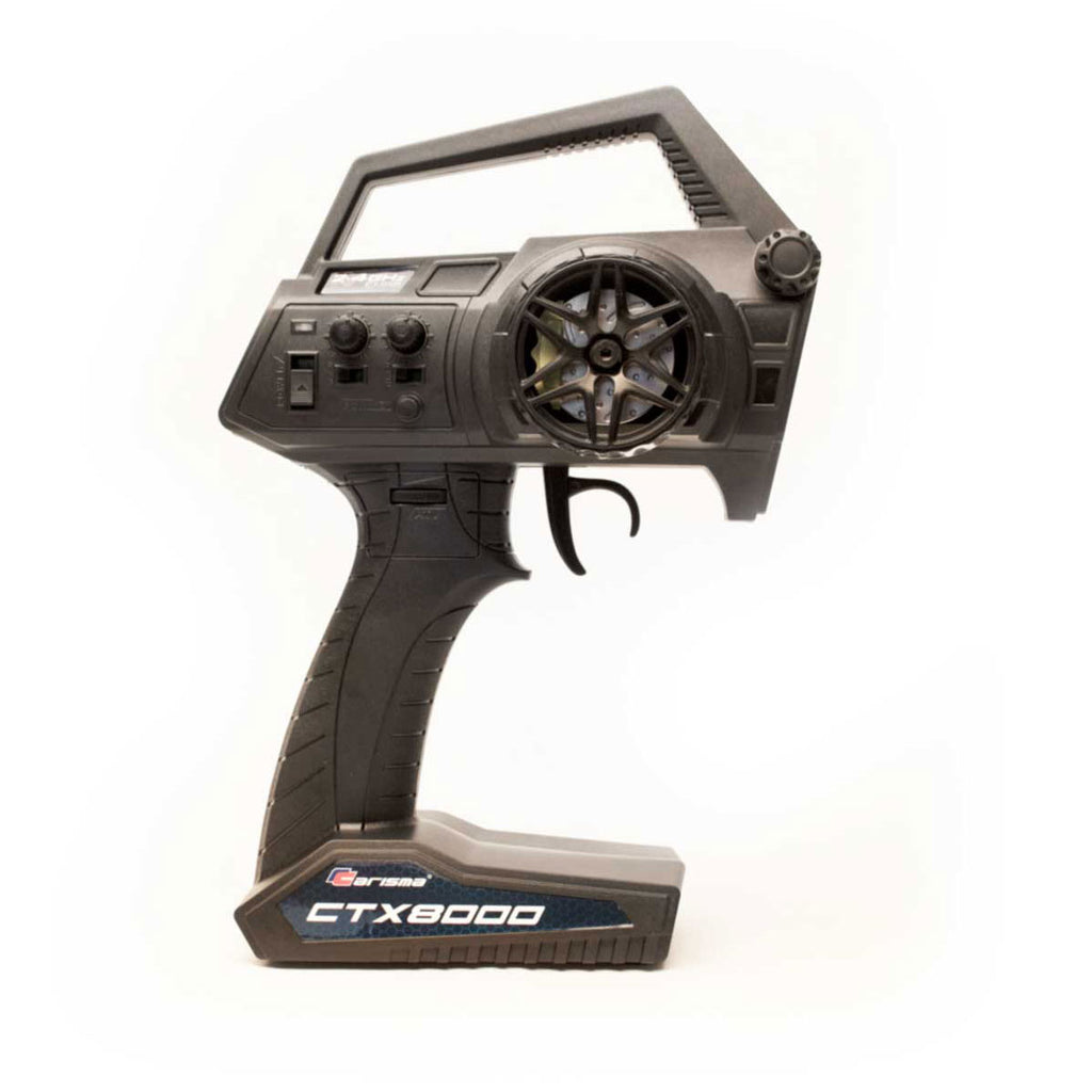 Carisma - CTX8000 2.4GHz FHSS 2-Channel Pistol Radio w/ 2 Receivers - The R/C House