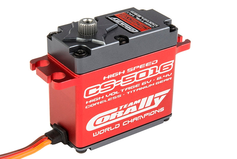 Corally - CS-5016 High Voltage/High Speed Coreless Aluminum Case Digital Servo .06/200 oz. @ 7.4v