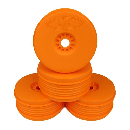 DE Racing - Orange Speedline Plus Buggy Wheels for 1/8 Buggy (4pcs)