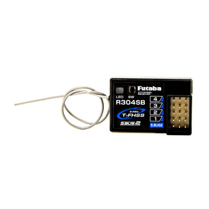 Futaba - R304SB T-FHSS Telemetry System 4-Channel 2.4GHz Receiver - The R/C House