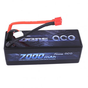 Gens ace - 7000mAh 14.8V 60C 4S1P HardCase Lipo Battery - The R/C House