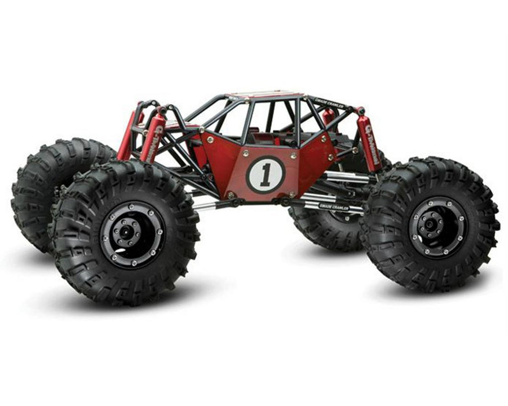 Gmade - R1 Rock Crawler Buggy Kit, 1/10 Scale, w/ a Tube Frame, and 4WD - The R/C House