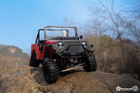 Gmade - SAWBACK 4LS Off-Road Vehicle Kit, 1/10 Scale, w/ a GS01 Chassis, and 4WD - The R/C House