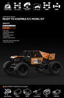 Gmade - GOM Rock Crawler Buggy Kit, 1/10 Scale, w/ a GR01 Chassis, and 4WD - The R/C House