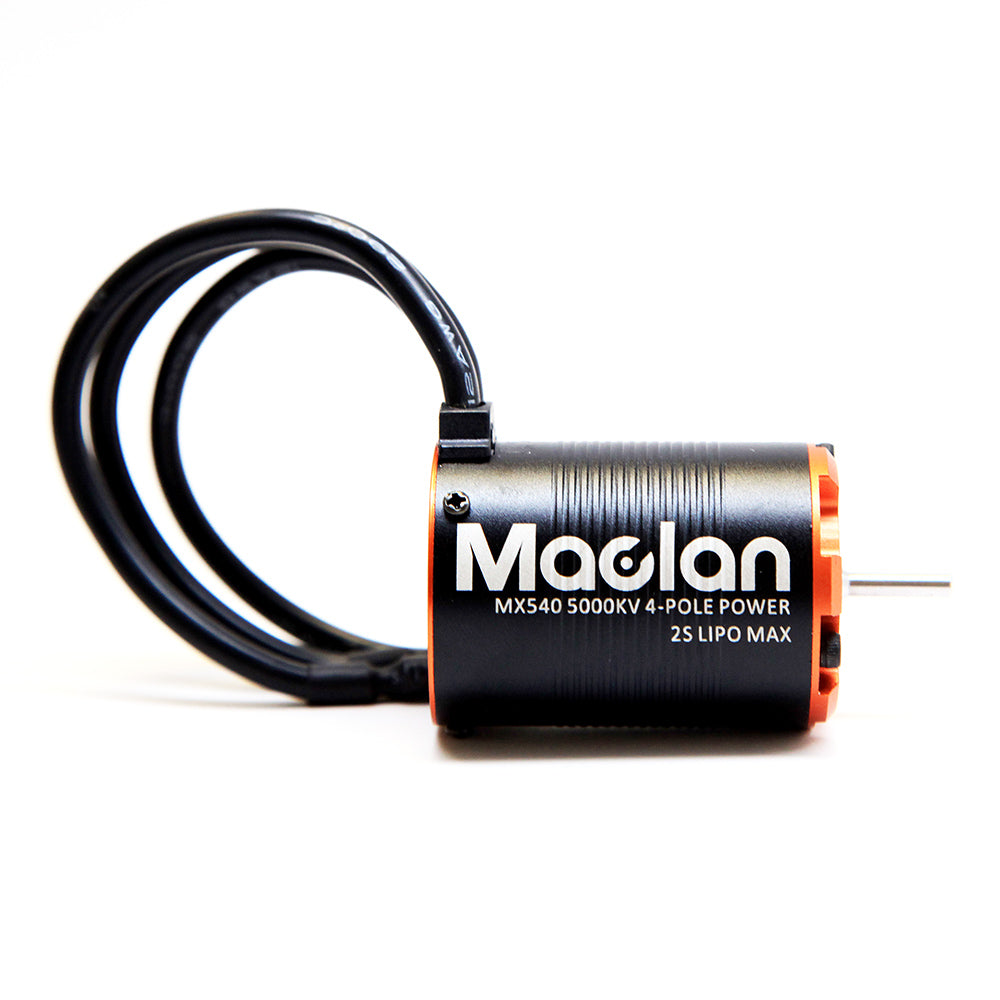 Maclan Racing - MX540 5000KV sensorless 4-pole 540 class motor Brushless Motor - The R/C House