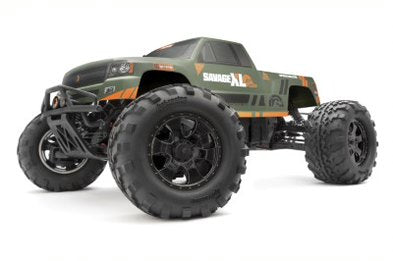 HPI - SAVAGE XL Flux GTXL-1 Monster Truck RTR, 1/8 Scale, 4WD, Brushless ESC, w/ 2.4GHz Radio System