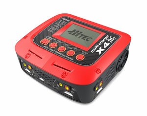 Hitec - X4 AC Pro AC/DC Four Port MultiCharger - The R/C House