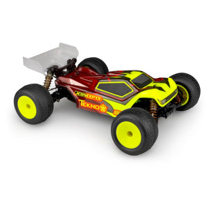 JConcepts - Finnisher - Tekno ET410 Clear Body - The R/C House