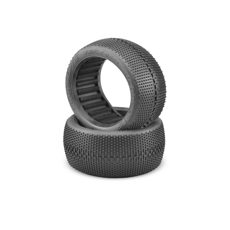 JConcepts - Triple Dees Tire, Soft, Green Compound, for 1/8 Scale