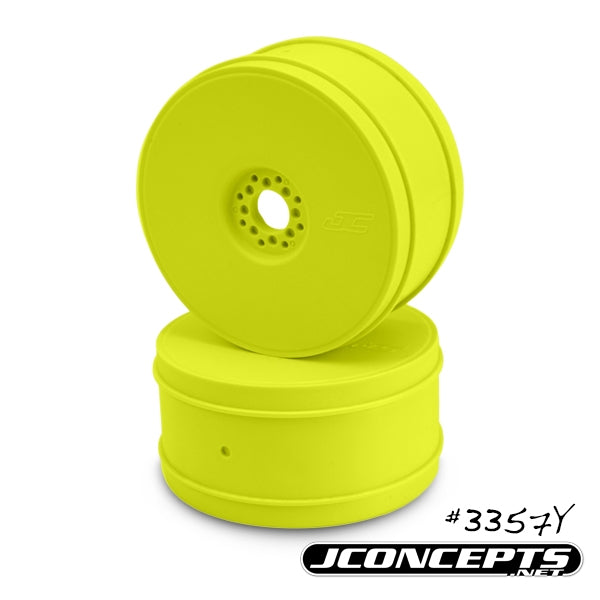 JConcepts - Bullet - 1/8th Buggy Wheel - 83mm - 4pc - (Yellow) - The R/C House