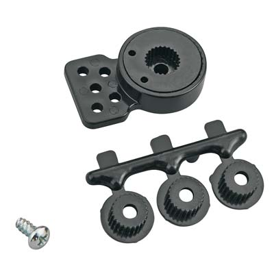 Kimbrough - Mid-Size Servo Saver w/ holes 23, 24 & 25 Spline Drive - The R/C House