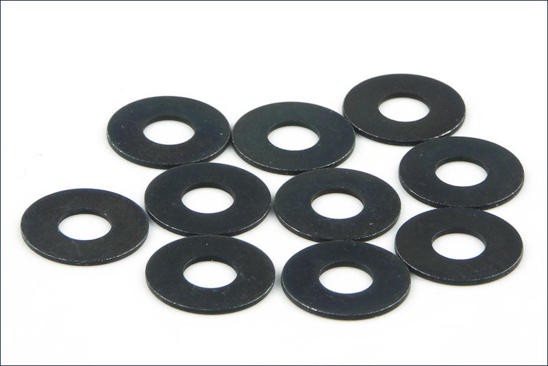 Kyosho - Washer(M4X10X0.5/10Pcs) - The R/C House