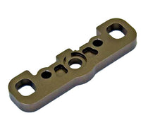 Kyosho - Front Lower Suspension Holder (F/Gunmetal/MP9) - The R/C House