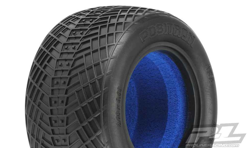 "Proline - Positron T 2.2"" MC (Clay) Tires for 1/10 Stadium Truck"