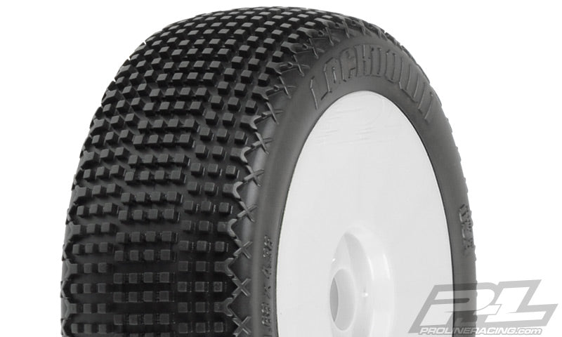 Proline - Lockdown X3 (Soft) 1/8 Buggy Tires PreMounted (2) - The R/C House
