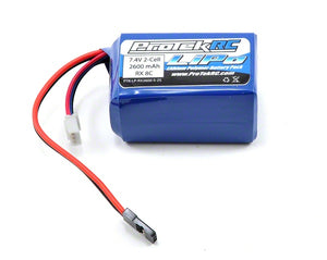 Protek RC -  Li-POLY HUMP RECEIVER BATTERY PACK (7.4V/2600MAH) - The R/C House