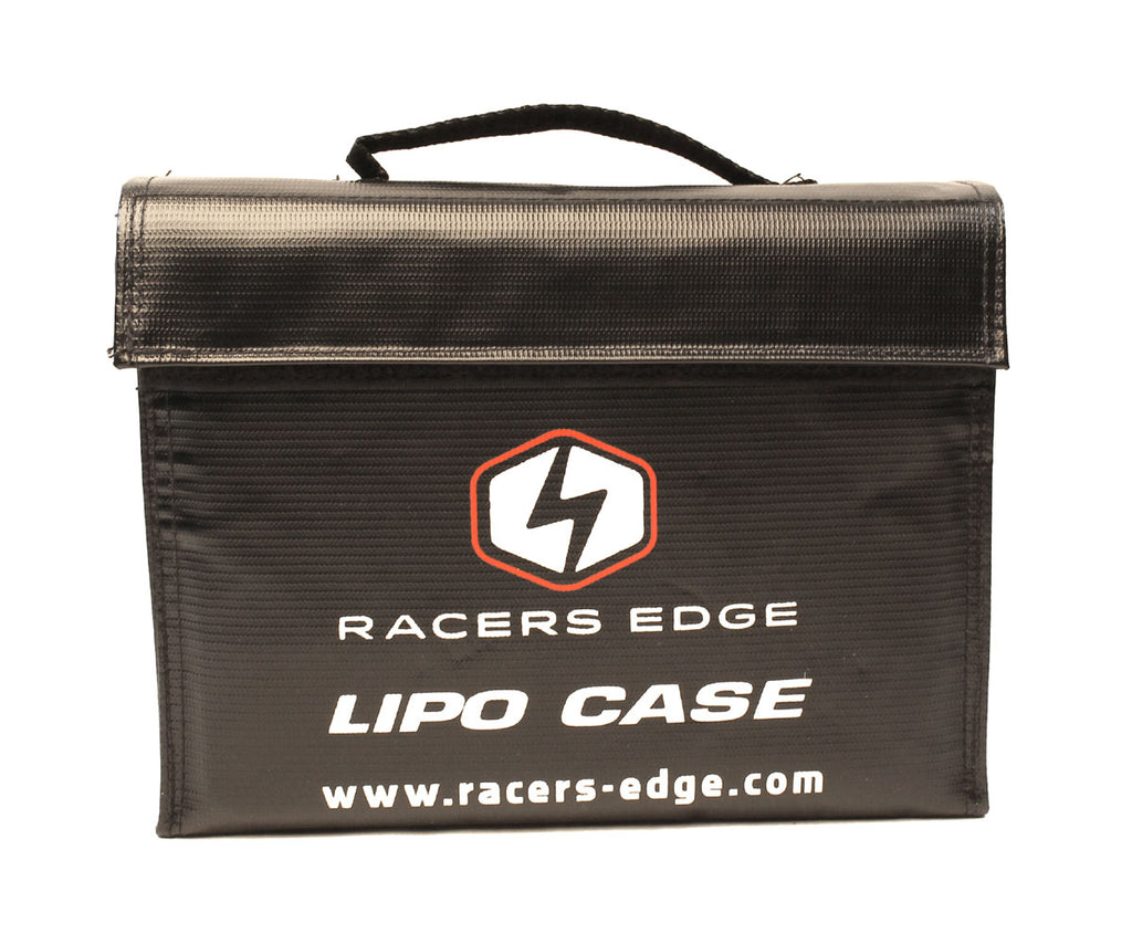 Racers Edge - LiPo Battery Charging Safety Briefcase (240 x 180 x 65mm) - The R/C House