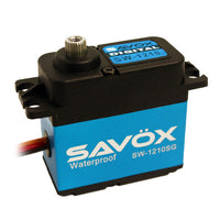 Savox - Waterproof High Voltage Digital Servo .13/319.40 @7.4V - The R/C House
