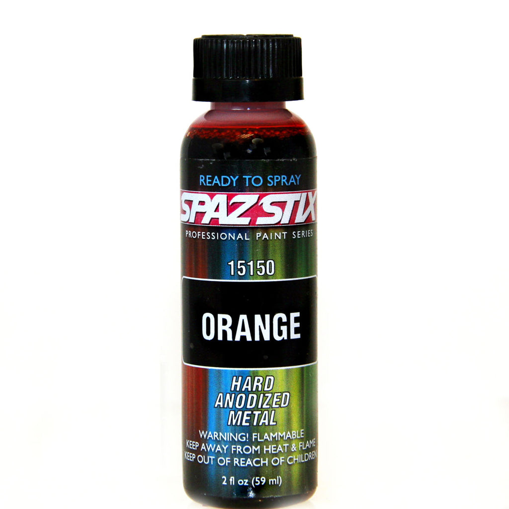 Spaz Stix - CANDY ORANGE AIRBRUSH PAINT 2OZ - The R/C House