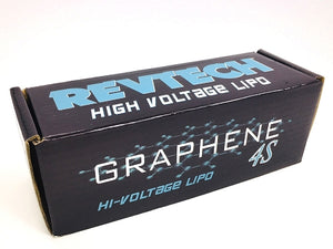 "Revtech - ""Graphene"" LiHV Hi-Voltage Battery Pack, 4S 15.2v 6750mah, 110c w/ XT90 Plug - The R/C House"