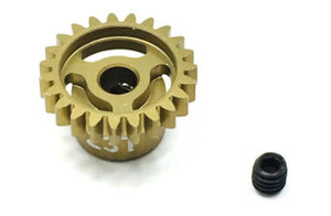 Trinity - Ultra Lightweight Aluminum Pinion Gear, Thin, 48 Pitch, 23 Tooth